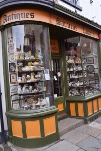 Antiques Shop - never seen it open and the sign on the door indicated it wouldn't be open until a Saturday some months in the future