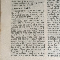 Hello Ma-dear! Mrs Beeton's Madeira Cake Recipe