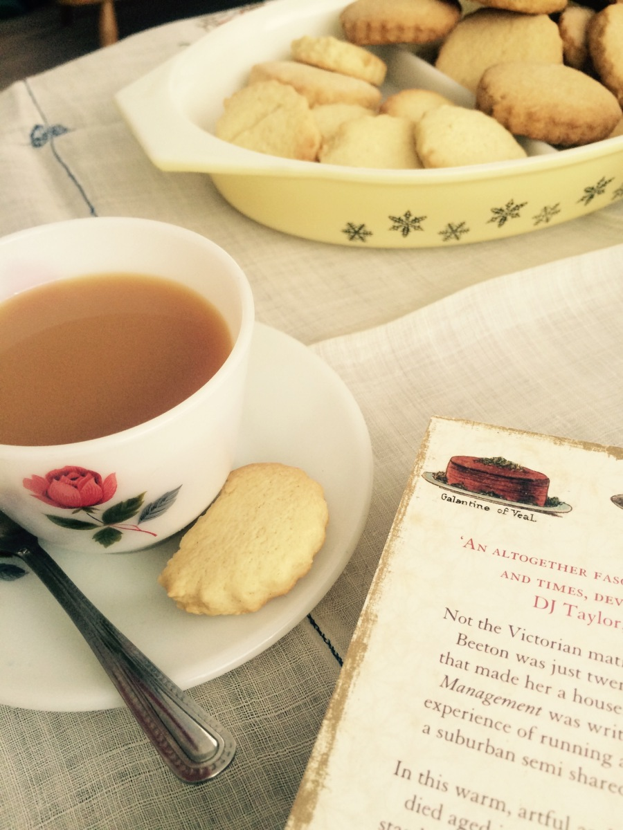 Mrs Beeton Redeemed - Lemon Biscuits Recipe