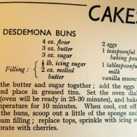 My Wish Vintage Kitchen makes Desdemona Buns