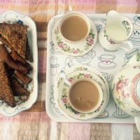 Wish Vintage Bakes Flapjacks - Biscuits from Marguerite Patten