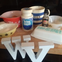 Wish Vintage Kitchen Bakes Marguerite Patten - Vanilla Souffle