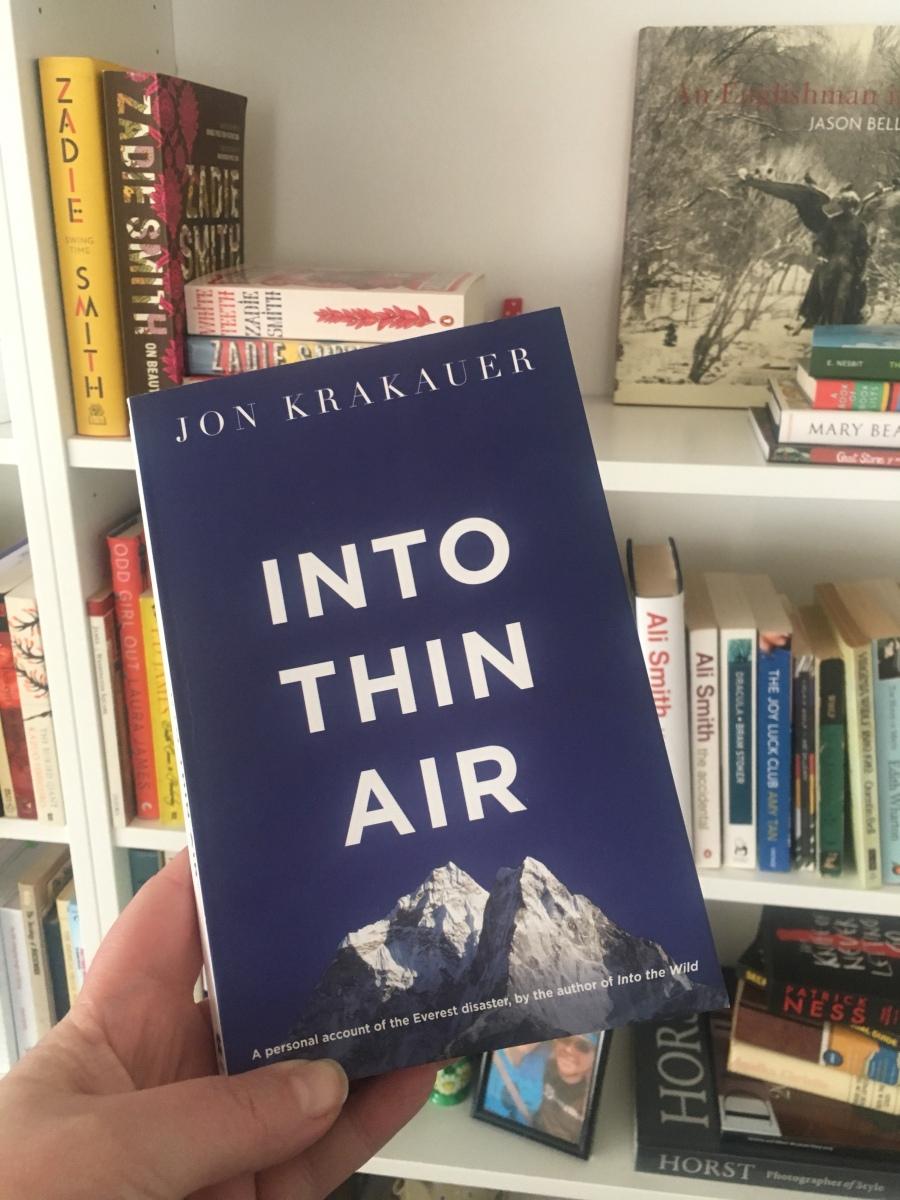 Into Thin Air – Jon Krakauer (1997) – Book Review (Non-Fiction) | Wish  Vintage