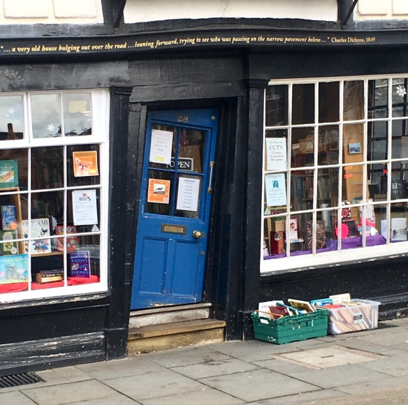 Bookshop Challenge 2018 – The Crooked Bookshop in Canterbury
