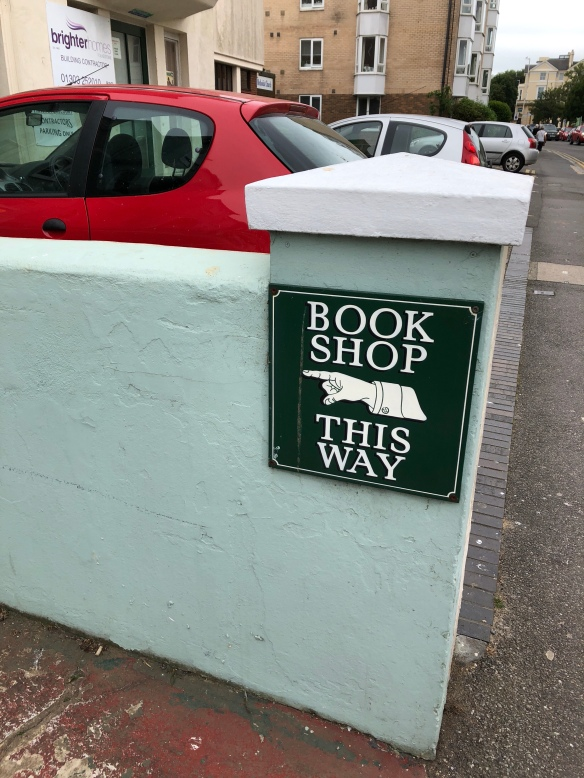 Marrin's Bookshop in Folkestone – Bookshop Challenge 2018