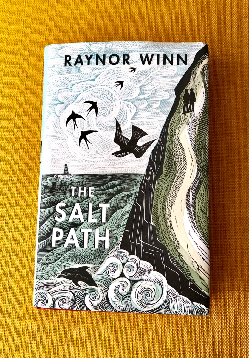The Salt Path by Raynor WINN - #bookreview #memoir #southwestcoastalpath