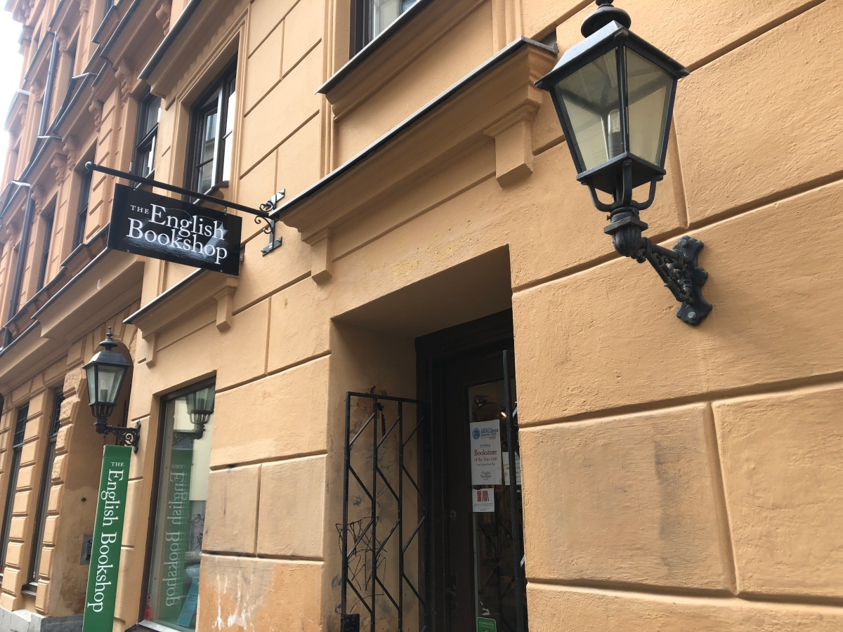 The English Bookshop, Stockholm - #bookshopchallenge2018 #bookshop