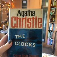 The Clocks by Agatha Christie - #bookreview #crimefiction #Poirot #vintagebook