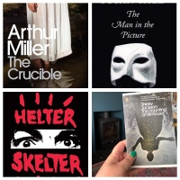 Spooky Reads - My October Halloween Top Ten Reading List